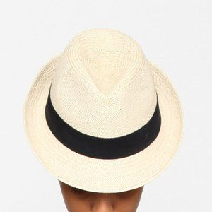 Auth CHANEL straw fedora Cuba Cruise'17 collection